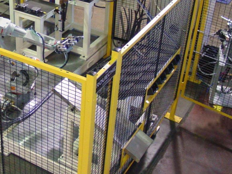 安全柵設置工事