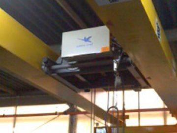 桁間式天井クレーン設置工事