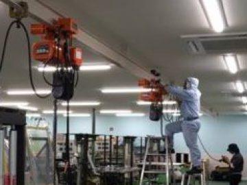 ホイストクレーン・天井クレーン設置工事・保全
